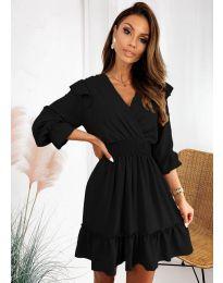Фустан - код 8554 - црна