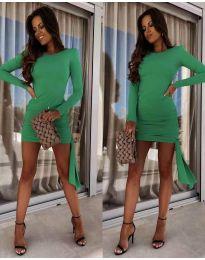 Фустан - код 6515 - зелена