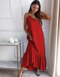 Фустан - код 4671 - црвена