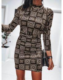Фустан - код 326 - 5 - шарена