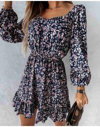 Фустан - код 2940 - шарена
