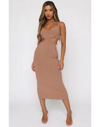 Фустан - код 111938 - кремова