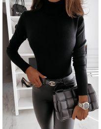 Блуза - код 9759 - црна