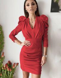 Фустан - код 7937 - црвена