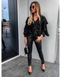 Блуза - код 9051 - црна