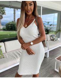 Фустан - код 4301 - бело