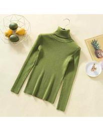 Блуза - код 0055 - зелена