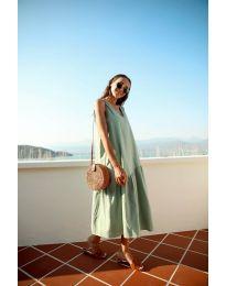 Фустан - код 8810 - зелена