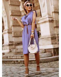 Фустан - код 7045 - виолетова