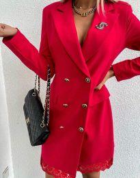 Фустан - код 6955 - црвена