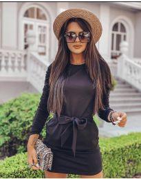 Фустан - код 2529 - црна