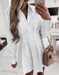 Фустан - код 8141 - бела