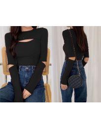 Блуза - код 0566 - црна