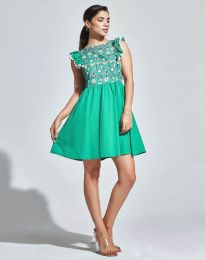 Фустан - код 1482 - 2 - зелена