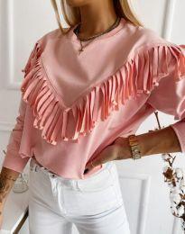 Блуза - код 12035 - розова