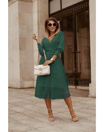 Фустан - код 9994 - путер зелена