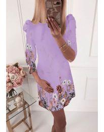 Фустан - код 240 - светло виолетова