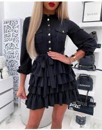 Фустан - код 7356 - црна