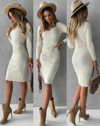Фустан - код 4845 - бело