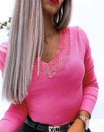 Блуза - код 3938 - циклама