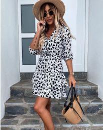 Фустан - код 2216 - 3 - бело