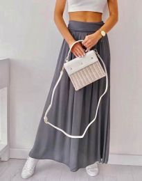 Сукња - код 2667 - сиво