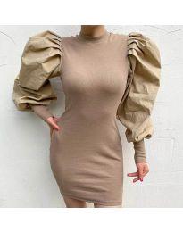 Фустан - код 3561 - кремова