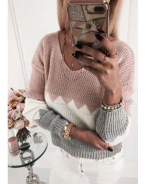 Блуза - код 375 - розова