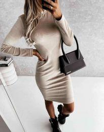 Фустан - код 9368 - кремова