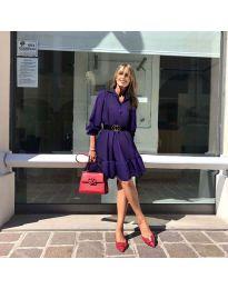 Фустан - код 960 - темно виолетова