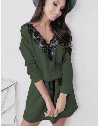 Фустан - код 5111 - зелена