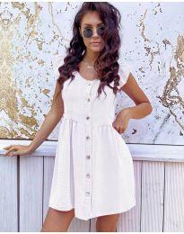 Фустан - код 3033 - бело