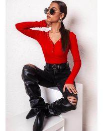 Блуза - код 11564 - црвена