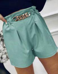 Кратки панталони - код 2085 - ментол