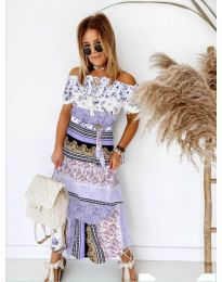 Фустан - код 5061 - виолетова