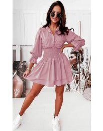 Фустан - код 1843 - розова