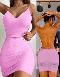 Фустан - код 3948 - розова