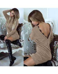 Фустан - код 0502 - кремова
