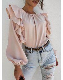 Блуза - код 0509 - розова