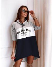 Фустан - код 9090-4 - шарено