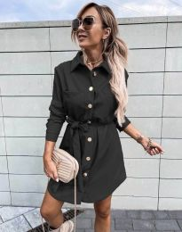 Фустан - код 2186 - црна