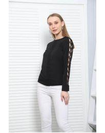 Блуза - код 0639 - 1 - црна