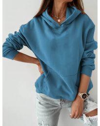 Блуза - код 186 - светло сина