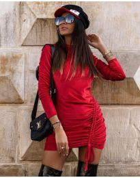 Фустан - код 9545 - црвена