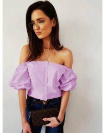 Блуза - код 243 - виолетова