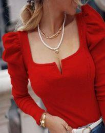 Блуза - код 12115 - црвена