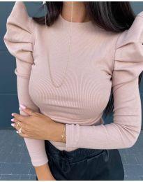 Блуза - код 8027 - розова