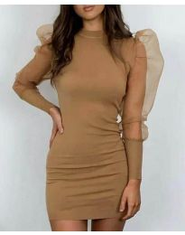 Фустан - код 3545 - кафеава