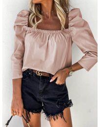 Блуза - код 9906 - розова