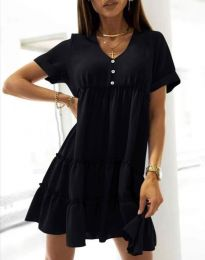 Фустан - код 7205 - црна